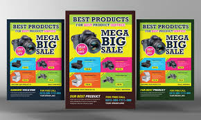 Promotional Flyer Template Product Promotion Flyer Flyer Templates Creative Market 1