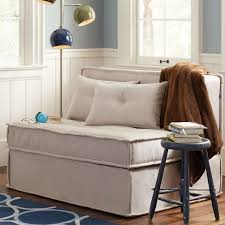brilliant manificent pull out chair bed cushy sleeper sofa 4725 pbteen