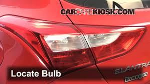 2013 Hyundai Elantra Bulb Chart Tail Light Change 2013 2017 Hyundai Elantra Gt 2013