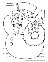 Printable christmas coloring pages for kids and their parents is a great idea to spend this special time with close relatives in a pleasant way. Winter Wonders Holidays And Celebrations Coloring Page Printable Coloring Pages