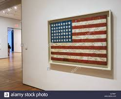flag painting jasper johns museum of modern art nyc