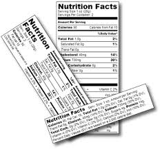 Ingredients Label Template Bakery Nutrition Analysis Labels And Recipe Costing Recipal