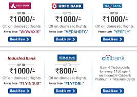 Cleartrip coupons hdfc credit card