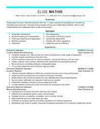 Extrusion Operator Job Seeking Tips