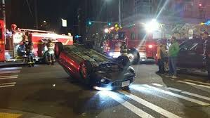 West Seattle Blog… | UPDATE: Car flips after collision in The ...