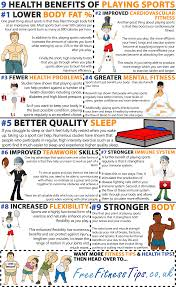 health benefits of playing sports fitness tips click here to view the full size infographic <<<