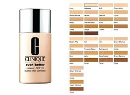Clinique Superbalanced Makeup Color Chart 10 Clinique Beyond Perfecting 2 In 1 Foundation Concealer
