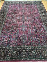 details about 8 6 x 12 karastan traditional design oriental rug full pile made in usa