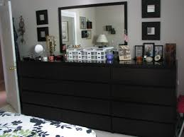 Narrow Bedroom Chest Of Drawers Ikea Is Not So Bad 3 X 4 Drawer Malm Dressers In Brown Black Were