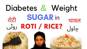 Food Chart For Sugar Patient In Urdu Sugar In Rice And Roti Diabetes And Weight Hindi Urdu Dr Iftikhar