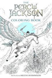 percy jackson coloring pages the coloring book percy jackson lightning thief coloring pages