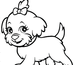 Dog Coloing Pages Dog Coloring Pages To Print And Cute Dog Coloring