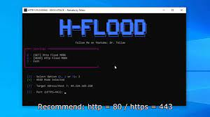 How to do DDoS Http Flood Attack in 30 Seconds • Summary networks