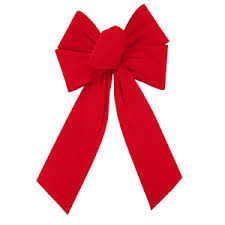 Outdoor Bows - Outdoor Waterproof Bows - Weatherproof Velvet Bows
