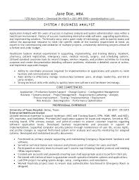 business systems analyst resume resume business systems analyst resume examples system example vs