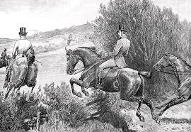 Prince Albert Hunting Near Belvoir by Print Collector