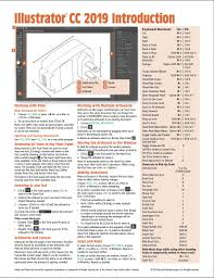 Adobe Illustrator Cc 2019 Introduction Quick Reference Guide