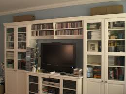 Living Room Cabinets With Glass Doors Furniture Accessories Design Of Ikea Bookshelves With Glass