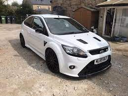 Looking For A Ford Focus Rs Mk2 This One Is On Ebay Ford Focus Rs Ford Focus Focus Rs