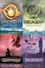 american covers top and uk covers bottom of the trilogy find this pin and more on divergent veronica roth