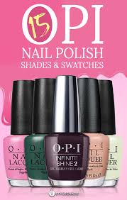 Anc Nails Color Chart 15 Best Opi Nail Polish Shades And Swatches For Women Of 2019