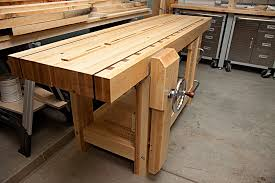 Shaker Workbench  Lake Erie Toolworks BlogRoubo Woodworking Bench