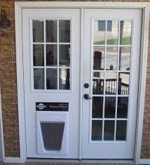 sliding glass dog door french doors