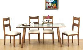 wooden dining table with glass top designs 6 dining table design with glass top dining table