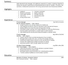 Product Manager Resume Samples Beauteous Product Management Resume Samples Format Manager Development Are