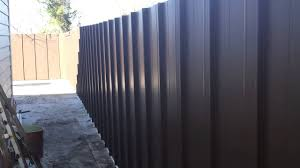 How to build sheet metal fence Fence Panels Building Metal Fence Youtube Building Metal Fence Youtube