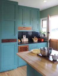 Donu0027t Be Afraid To Paint Your Kitchen In A Color As Bold As The