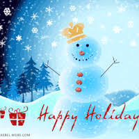 happy holidays snow gif. Delighful Gif SnowMan King Happy Holidays Animated For Snow Gif V