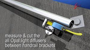 Led Handrail Lights 3d Video Animation Led Handrail Diy