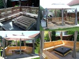 pallets into furniture. Black Pallet Patio Furniture Outdoor Aluminum All Home Decorations Wooden Pallets Diy Into