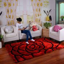 image of decorating rooms with red carpet
