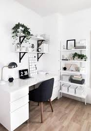 white desk home office. 50 Home Office Design Ideas That Will Inspire Productivity | Architectural Digest. Bedroom WorkspaceWhite Desk White E