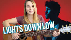 Lights Down Low Fingerstyle Lights Down Low Guitar Tutorial Max With Finger Picking Easy Chords