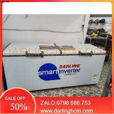 Tủ đông không đóng tuyết darling 1000L smart inverter dmf-9779asi giá cạnh  tranh