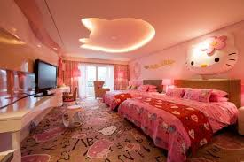 hello kitty bedroom set for teenagers. Girls Bedroom Ideas Within Pink Hello Kitty Decoration Set For Teenagers T
