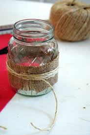 Decorating With Mason Jars And Burlap Mason Jar Burlap Glasses 100 Sew Woodsy 96