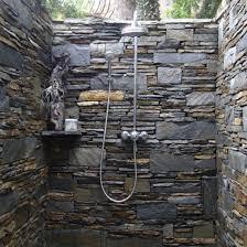 Stone Bathroom Tiles Bathroom Fascinating Granite Stone Tile Design With Glass