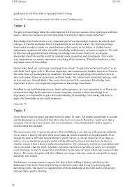 toefl writing topics and model essays