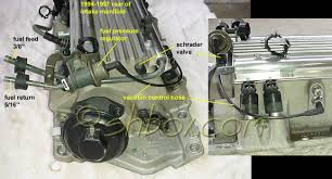 4th gen lt1 f body tech component location views fuel pressure regulator and shrader valve