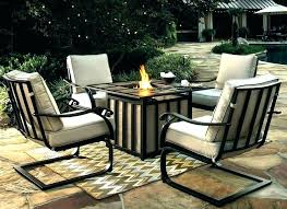 good outdoor dining table with fire pit for dining table with fire pit swinging patio dining