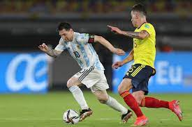 Argentina allows last-minute draw at Colombia in qualifiers   Sports