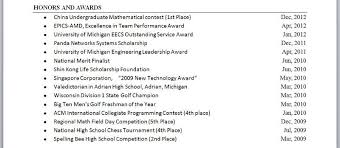 Awards On Resume Unique 28 Perfect Honors And Awards Resume Examples Pi U28 Resume