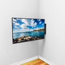 pillar corner tv wall mount for