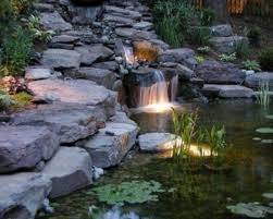 backyard ponds and waterfalls. Delighful Waterfalls Interior Design Fo Backyard Ponds And Waterfalls 75 Relaxing Garden DigsDigs For I