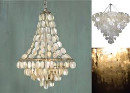 capiz shell chandelier lighting and light fixtures pier 1 with