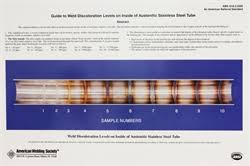 Stainless Steel Weld Color Chart Aws Bookstore Aws D18 2 2009 Guide To Weld Discoloration